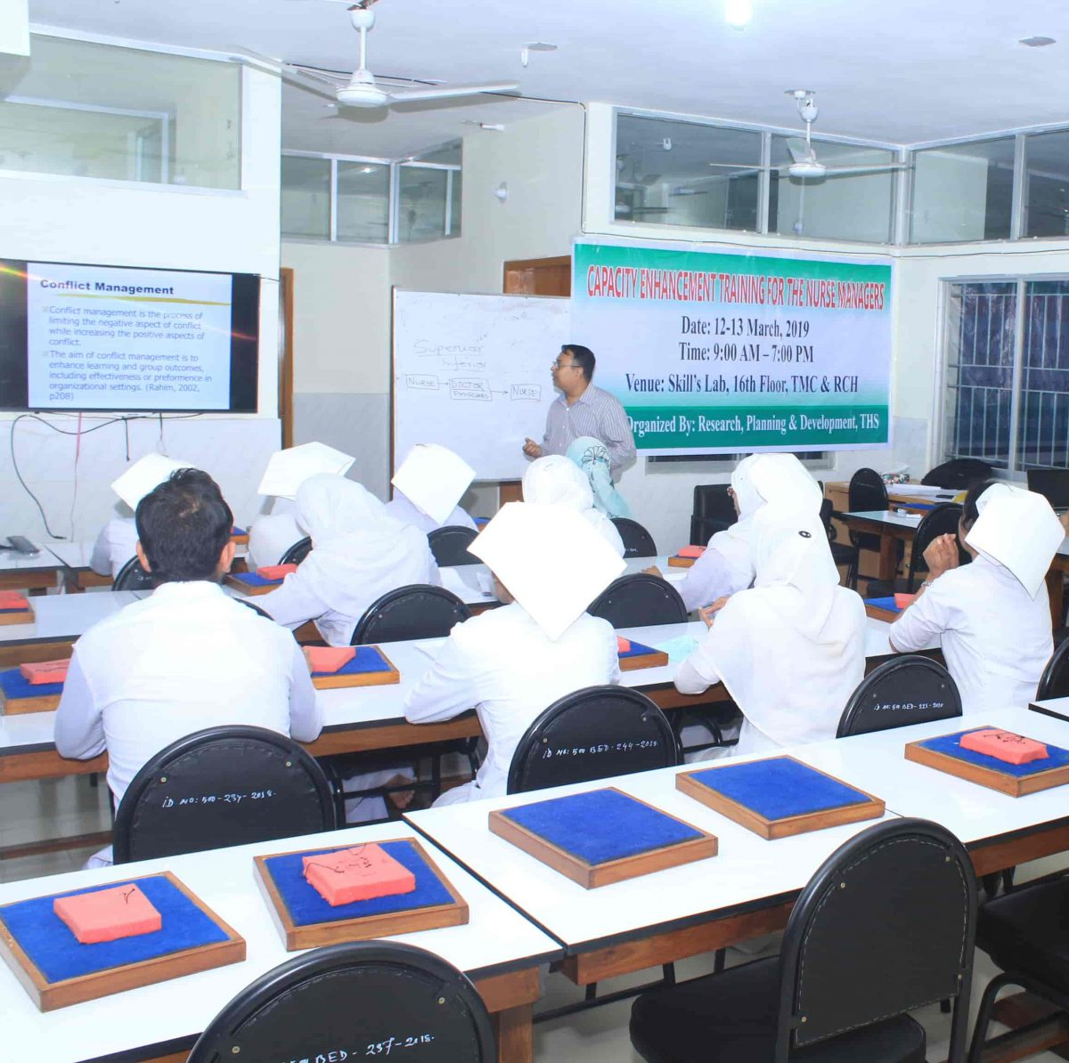 Capacity Enhancement Training for Nurse Managers (2)