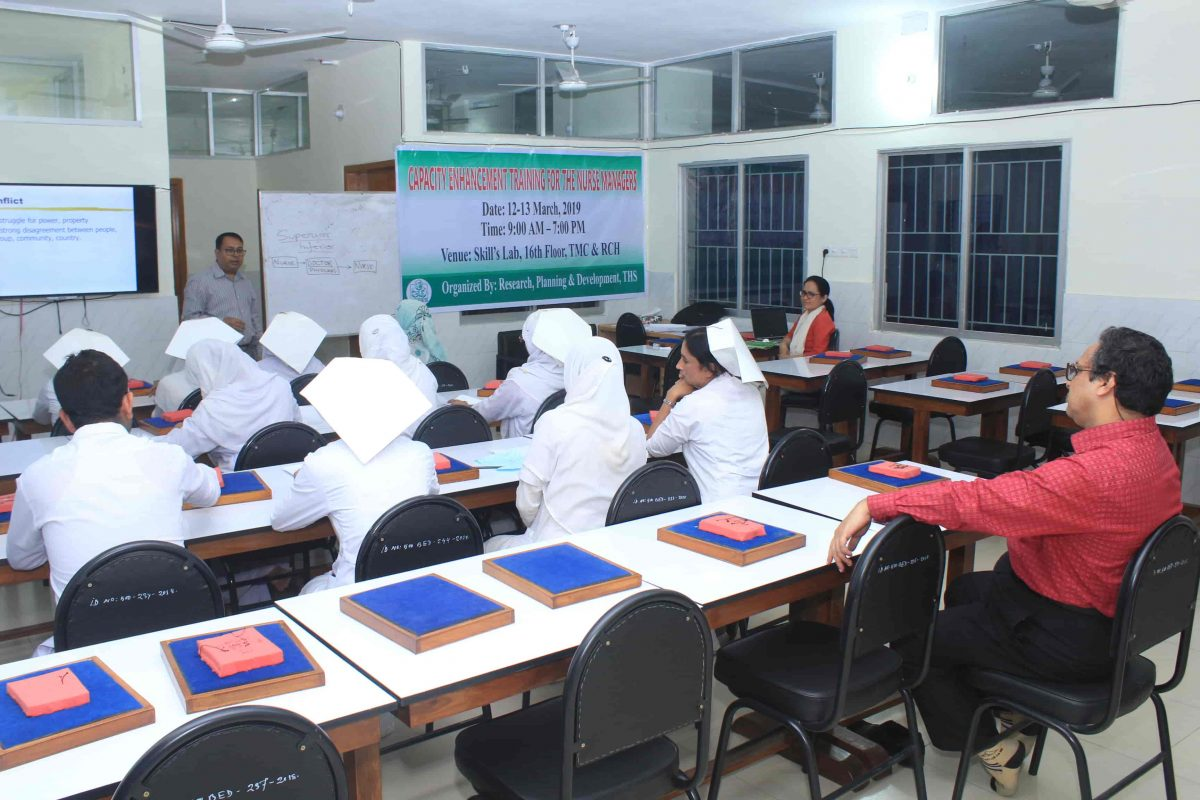 Capacity Enhancement Training for Nurse Managers (6)